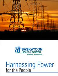 saskatoon Light and power brochure