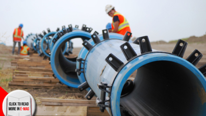 SaskWater – Zelma East Pipeline Project
