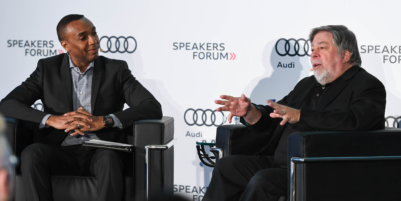 Apple co-founder Steve Wozniak visits Toronto