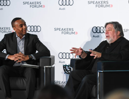 Apple co-founder Steve Wozniak visits Toronto