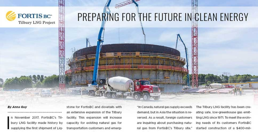 FortisBC- Tilbury LNG Project