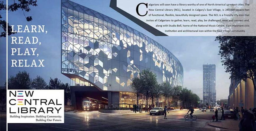 New Central Library – Calgary Municipal Land Corporation