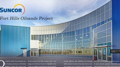Suncor – Fort Hills  Oilsands Project