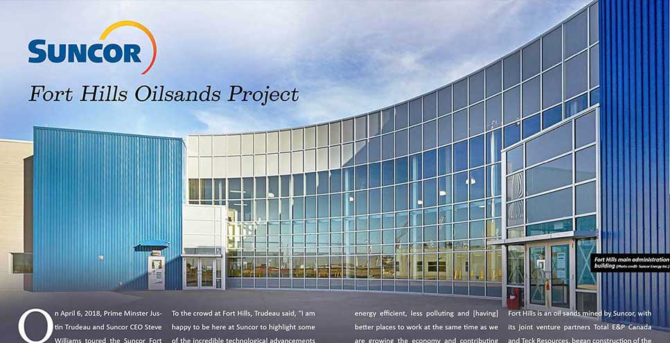 Suncor - Fort Hills Oilsands Project