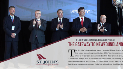 St. John's International Airport  Authority – Phase 1 Terminal Building Expansion project