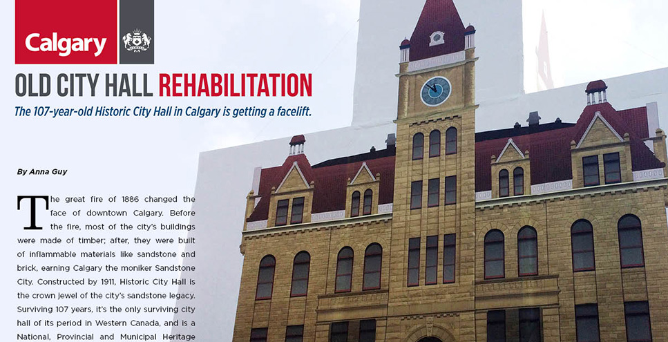 City of Calgary - Old City Hall Restoration Project