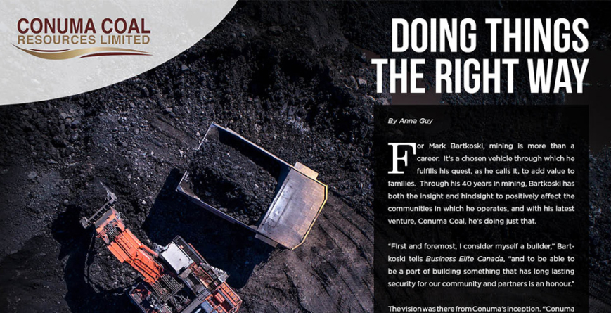 Conuma Coal  Resources Limited