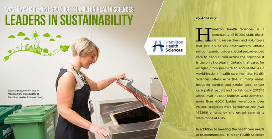Hamilton Health Sciences (HHS) – Waste Management