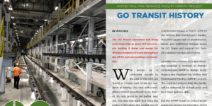 Whitby Rail Maintenance Facility (WRMF) project