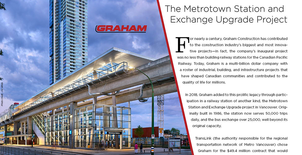 Graham- Metrotown Station and Exchange Upgrade project
