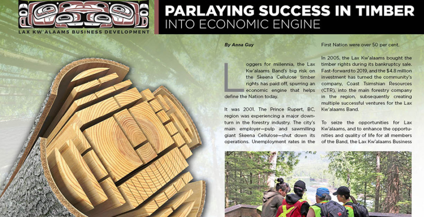 Lax Kw'alaams Business Development