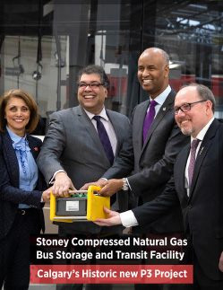 Stoney Compressed Natural Gas Bus Storage and Transit Facility