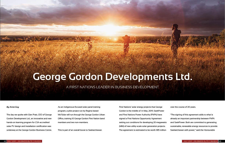George Gordon Developments