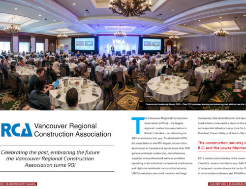 The Vancouver Regional Construction Association (VRCA)