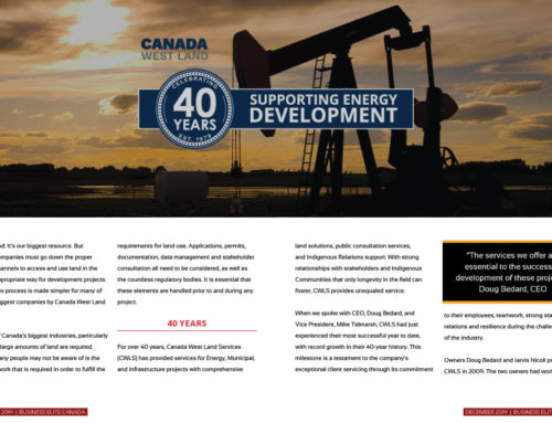 Canada West Land Services (40th anniversary)