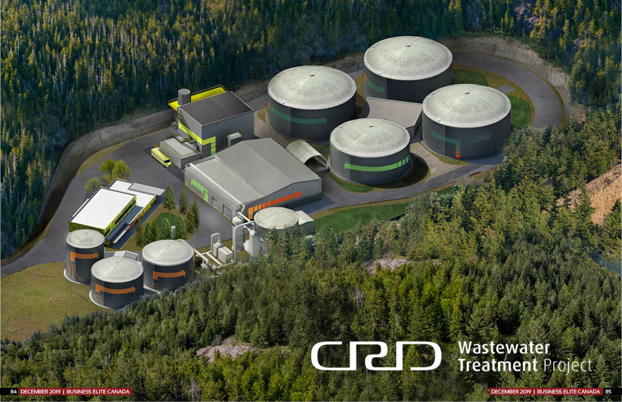 CRD's $765 million Wastewater Treatment Project
