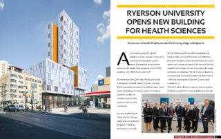 Ryerson University Opens New Building for Health Sciences
