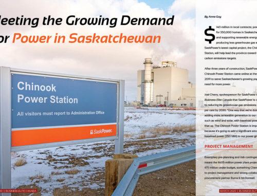 SaskPower Chinook Power Station