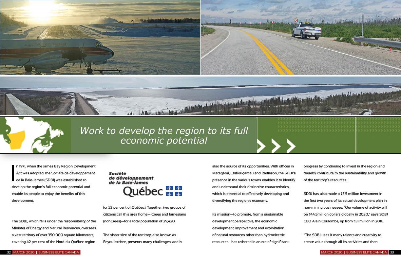 Société de développement de la Baie-James (SDBJ)