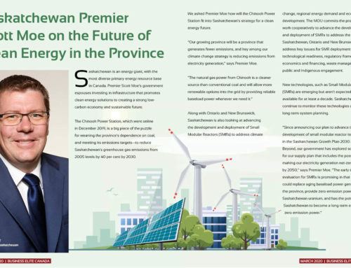 Saskatchewan Premier Scott Moe on the Future of Clean Energy in the Province