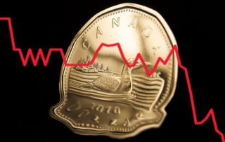 Canadian dollar weakens as coronavirus weighs on housing data