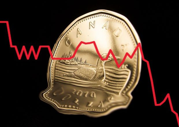 Canadian dollar weakens as coronavirus weighs on housing data