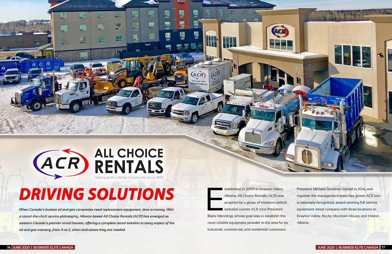 All Choice Rentals (ACR)