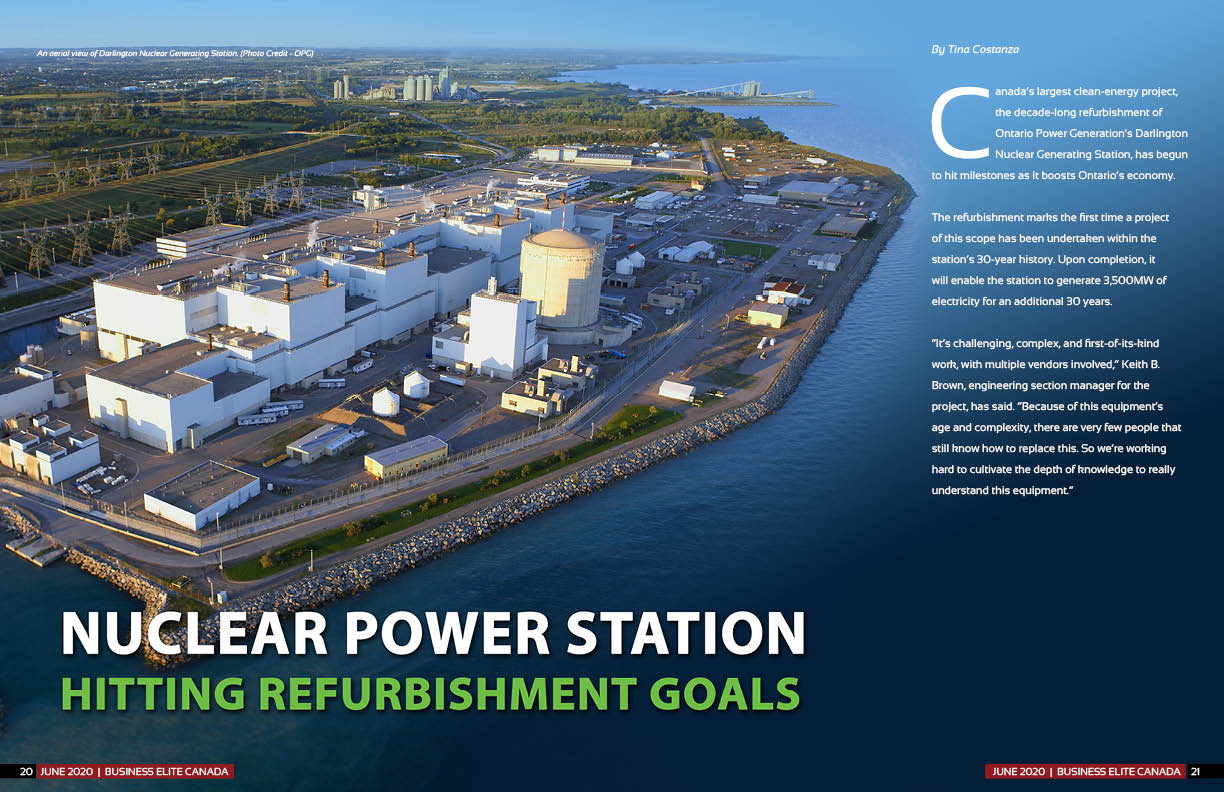 Darlington Refurbishment project - Canada's Largest Clean Energy Project