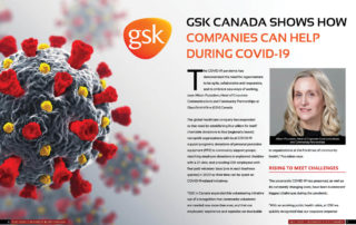 GSK Canada Shows How Companies Can Help During COVID- 19