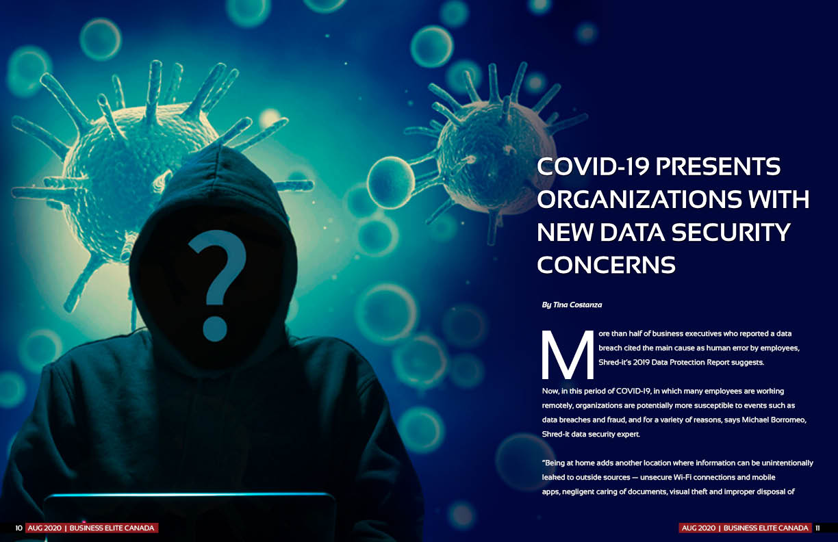 COVID-19 Presents Organizations With New Data Security Concerns
