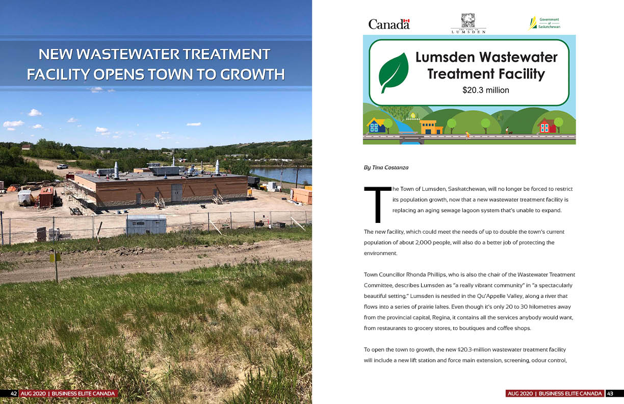 Town of Lumsden & Wastewater Treatment Facility Project