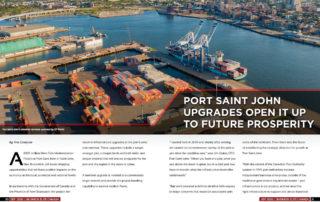 Port Saint John's $205 million Port Modernization Project