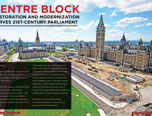 Centre Block Restoration And Modernization Project