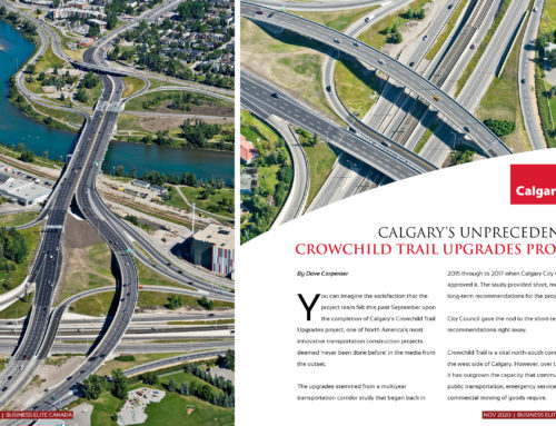 City of Calgary's Crowchild Trail Upgrades Project
