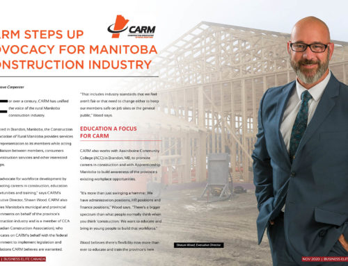 Construction Association of Rural Manitoba (CARM)