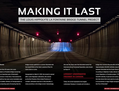 Louis-Hippolyte-La Fontaine Tunnel Rehabilitation Project