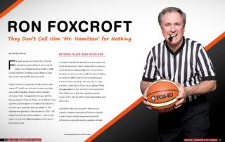 Executive Profile – Ron Foxcroft