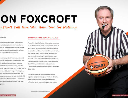 Executive Profile – Ron Foxcroft