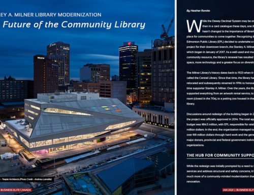 Edmonton Public Library –  Revitalized Stanley A. Milner Library