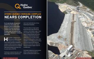 Hydro Québec - Romaine Complex