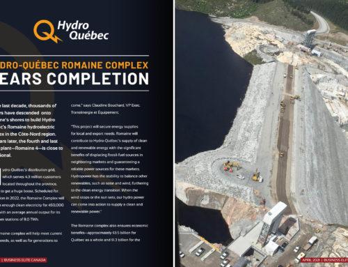 Hydro Québec – Romaine Complex