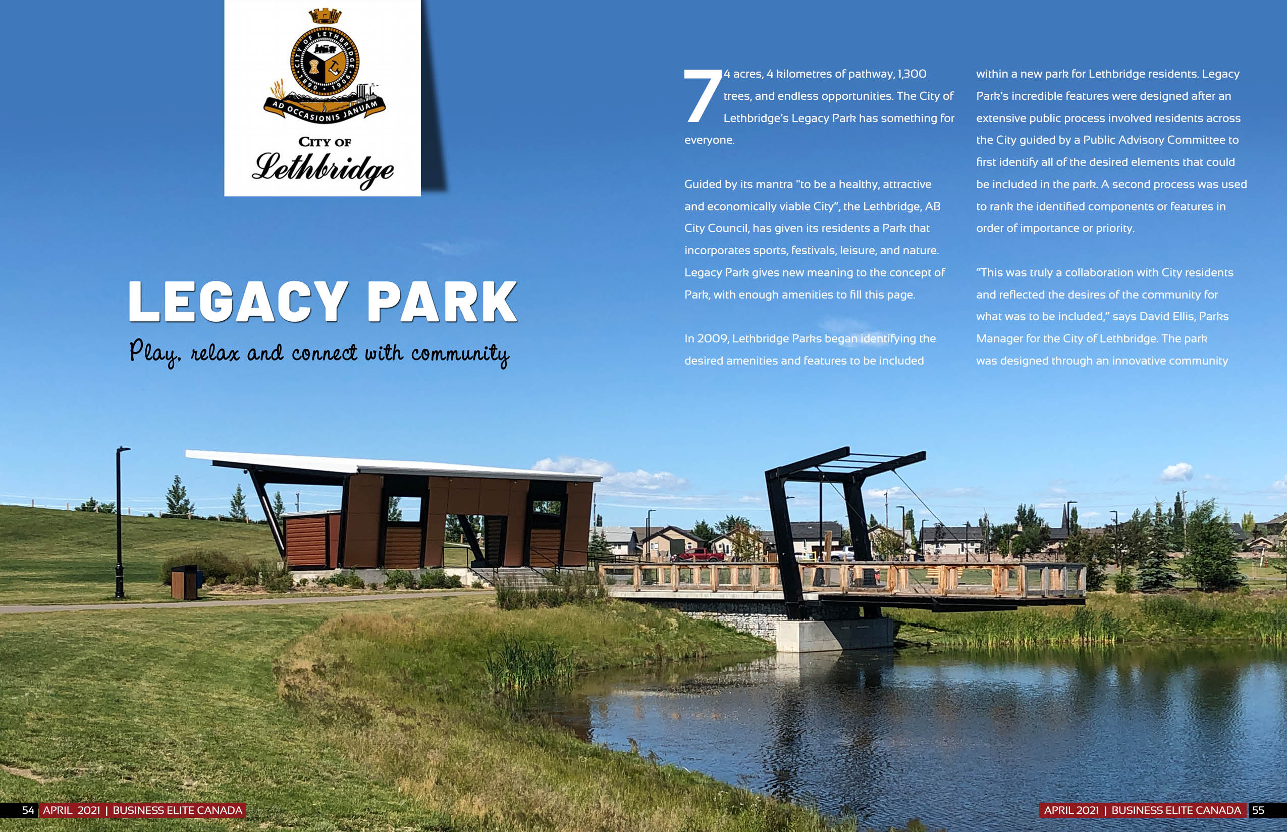 City of Lethbridge - Legacy Park