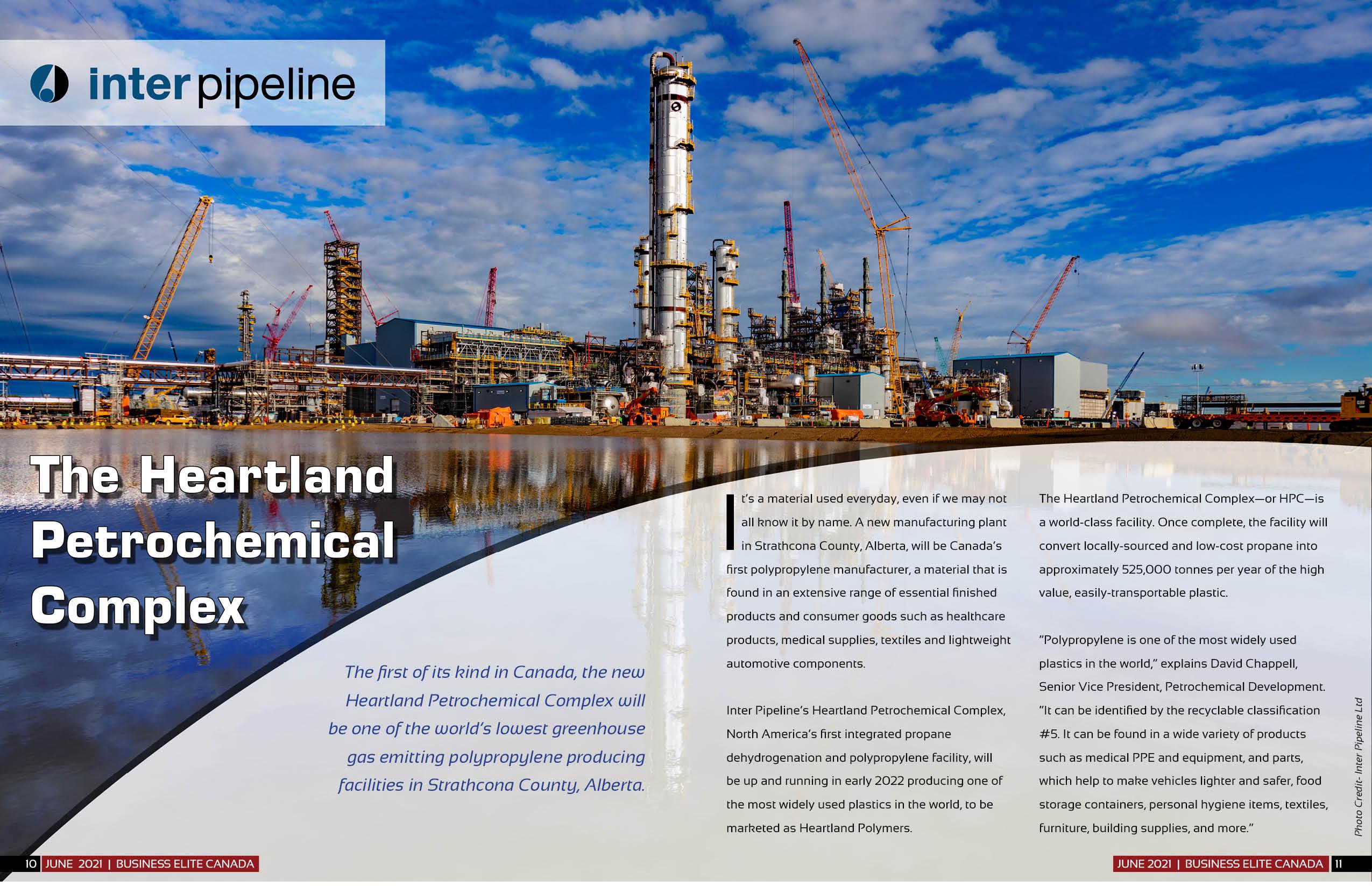 Inter Pipeline Heartland Petrochemical Complex