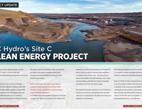 Project Update: BC Hydro's Site C Project