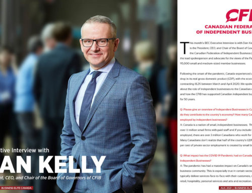 Executive Interview with Dan Kelly (CFIB)